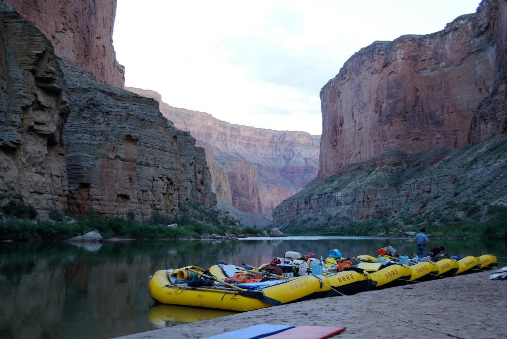 grand canyon white water rafting trip