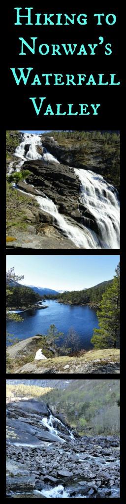 Explore Norway's Waterfalls Valley Husedalen Valley. www.thedailyadventuresofme.com