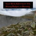 Hiking Ridges in Norway