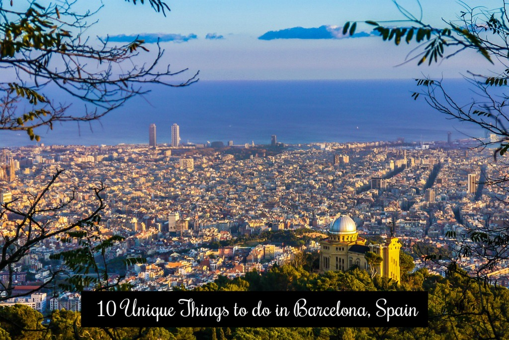 Unique things to do in Barcelona, Spain
