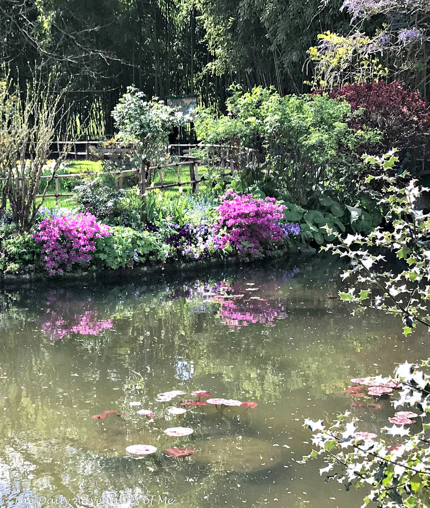 Visiting Monet's gardens at Giverny. thedailyadventuresofme.com