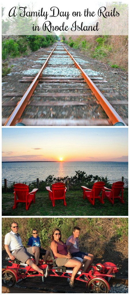 Exploring the Rails in Rhode Island!