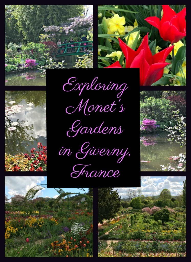 A spring visit to Monet's gardens in Giverny, France in spring is a real treat. It was