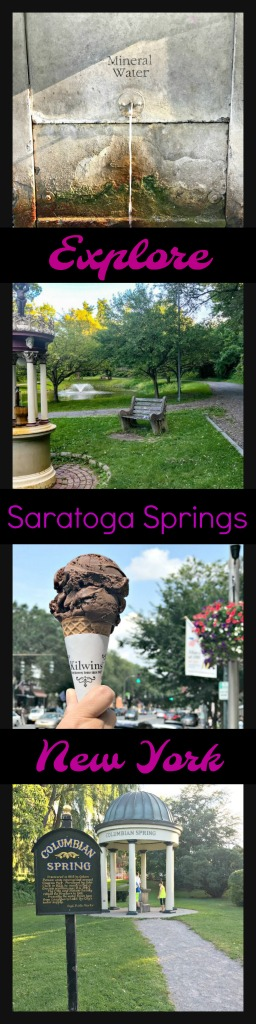 Explore the curative spas of Saratoga Springs or explore the adorable town and parks.