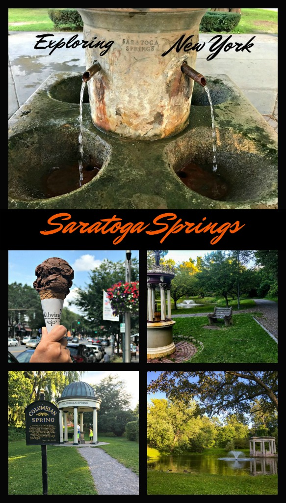 Spend one day in Saratoga Springs hiking in its large public park, enjoying the racetrack, spas or bustling downtown.