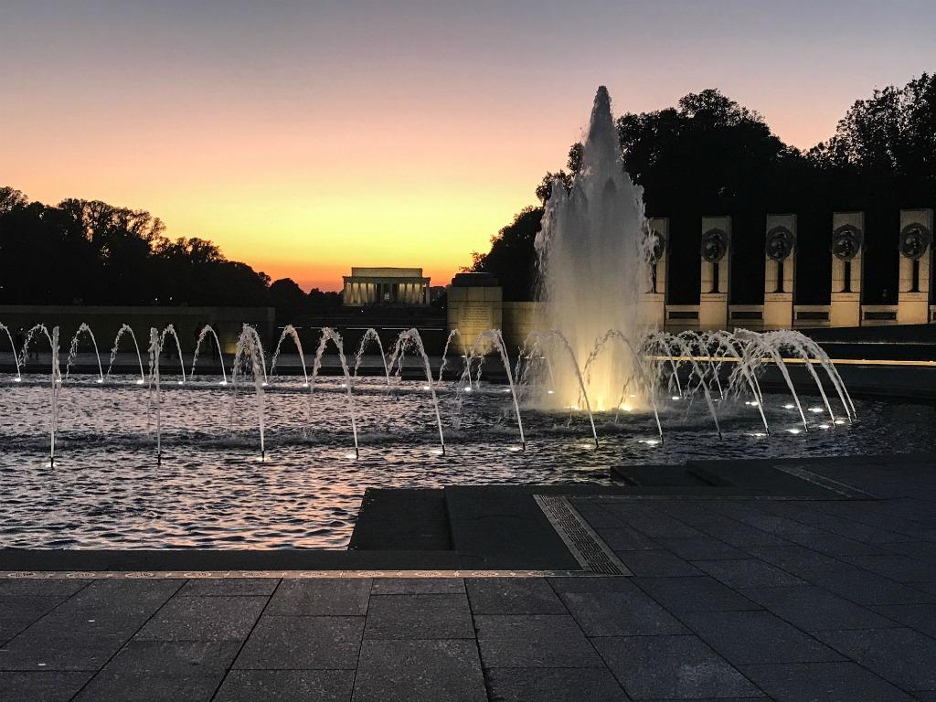 Sunsets around the US