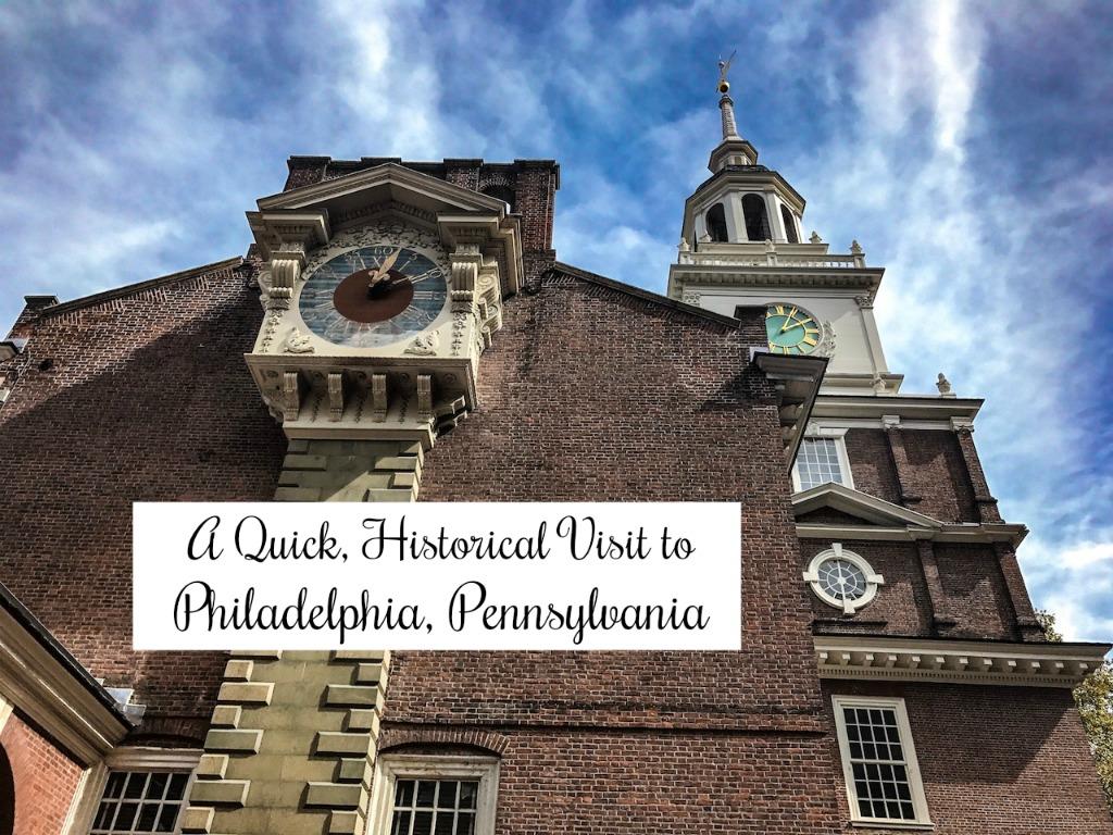 Visiting the historical sights of Philadelphia, Pennsylvania. thedailyadventuresofme.com