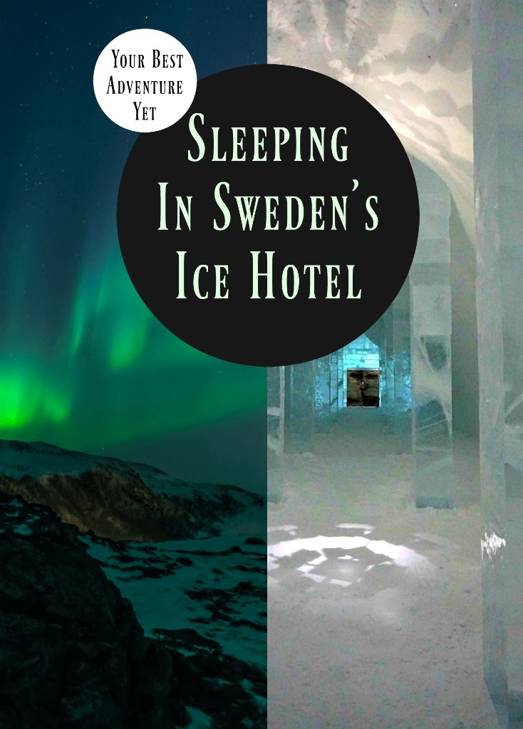 Spend the night in Sweden's Icehotel! Experience all that the Arctic Circle has to offer with dog sledding and viewing the Northern Lights! Read on for more...