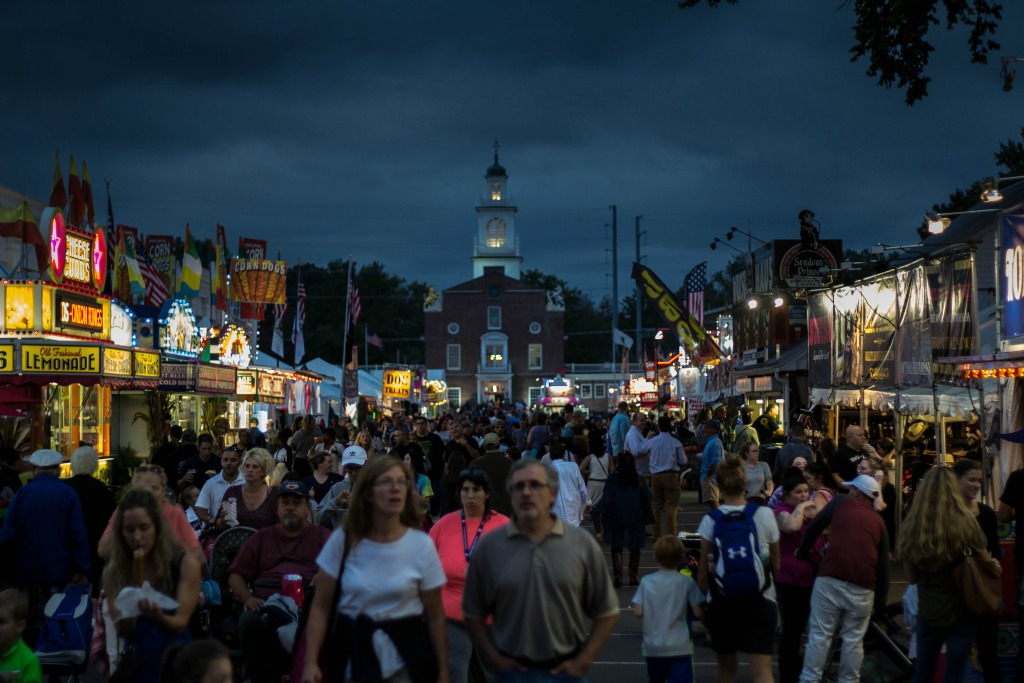 See the statehouses at the Big E fair.