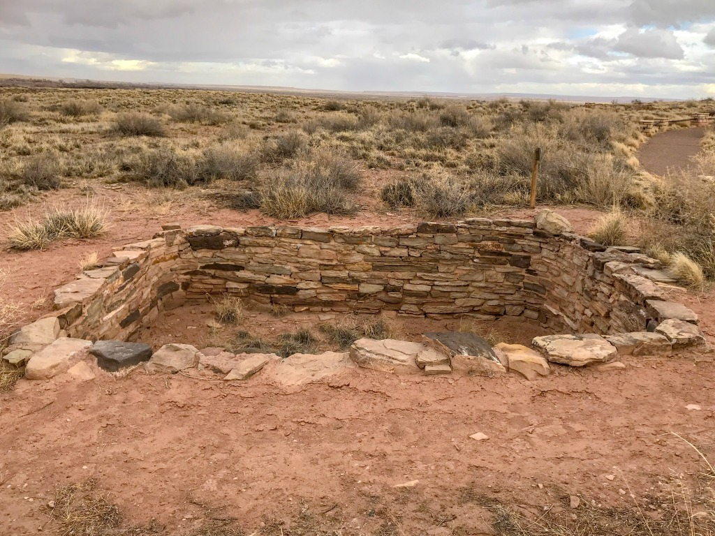 Indian ruins in Arizona, US.