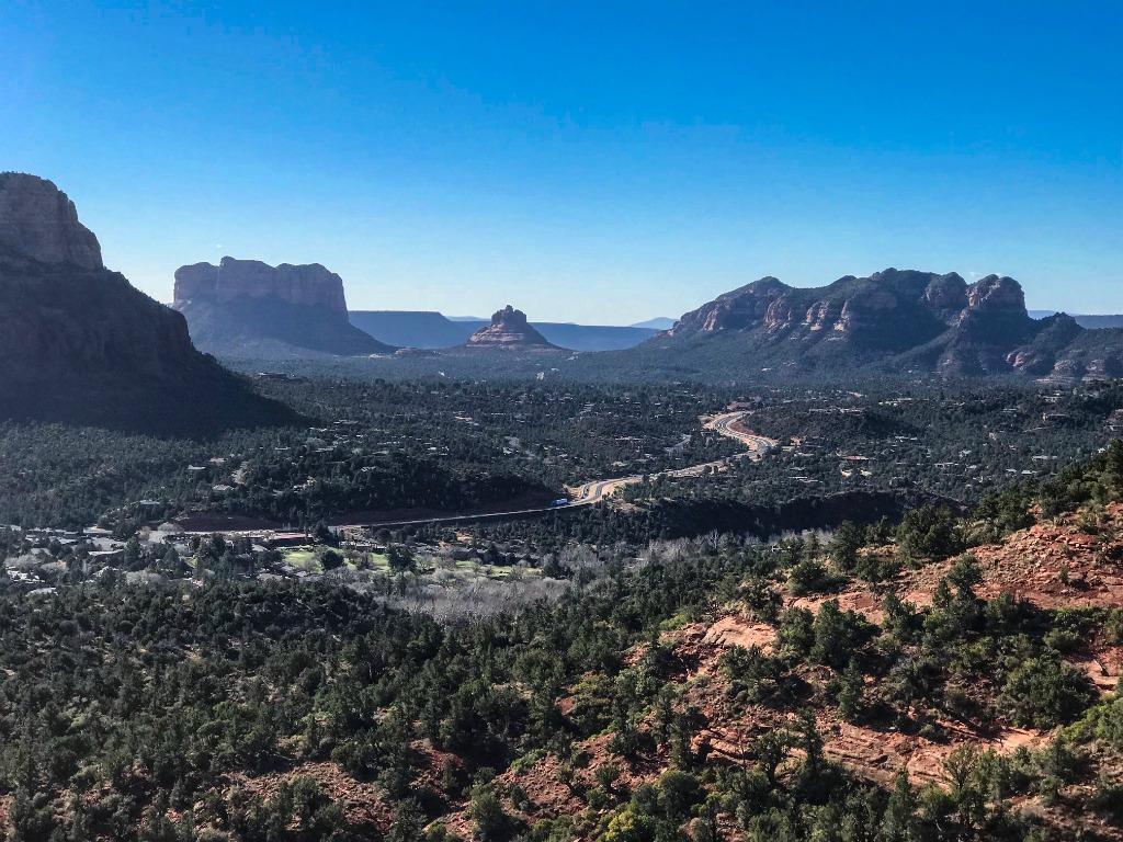 family hikes in Sedona Arizona.