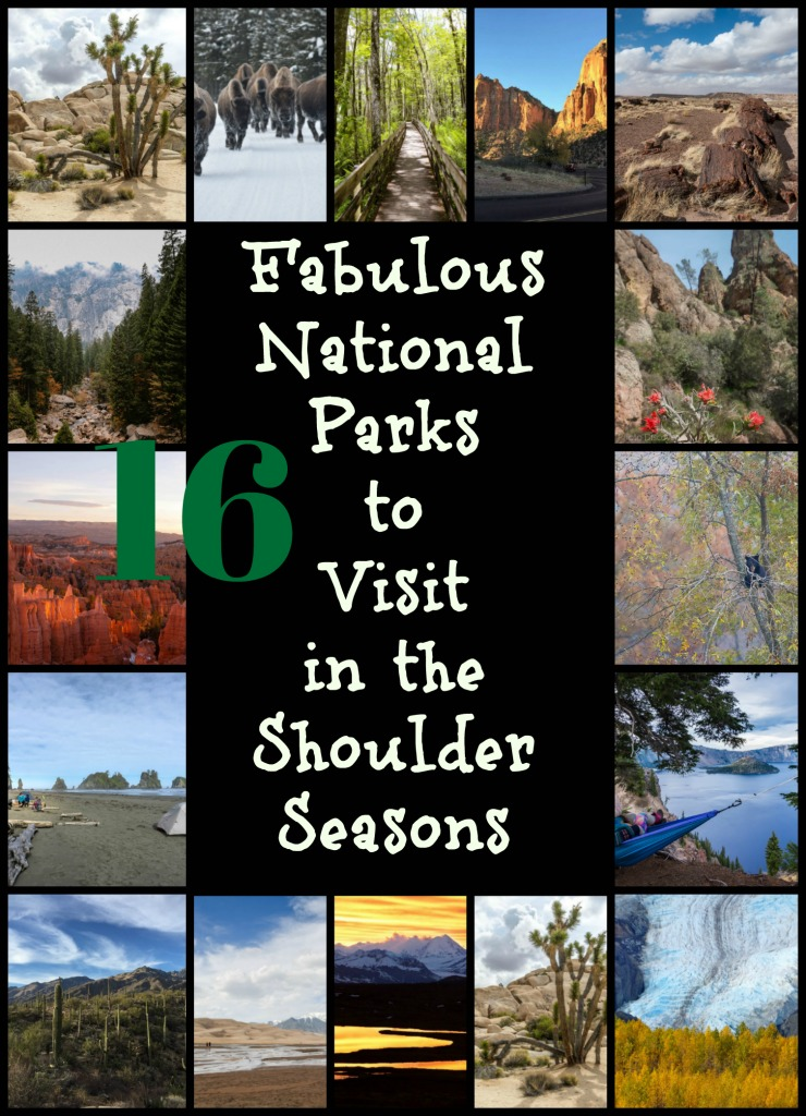 Read on to see why shoulder seasons are the best time to visit US National Parks and to explore the parks you need to experience. #traveltheUS #USTravel #TBIN