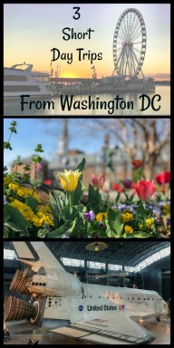Things to do right outside Washington DC. Metro-accessible short trips from Washington DC. #ThingstodoinDC #ThingstodoinWashingtonDC #USRoadTrips #TBIN #c2c