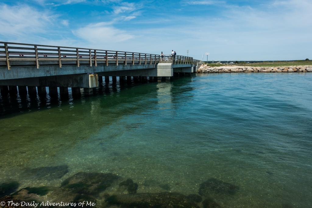 Jaws bridge by bike