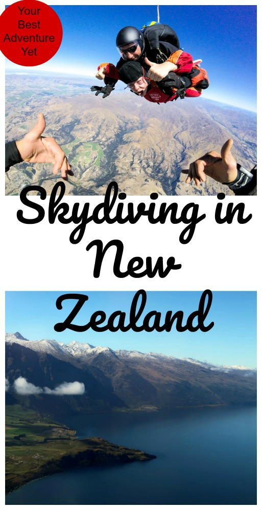 Looking for a real adventure? Read on to see why New Zealand is the best place to skydive! #NewZealand #adventuresports #skydiving
