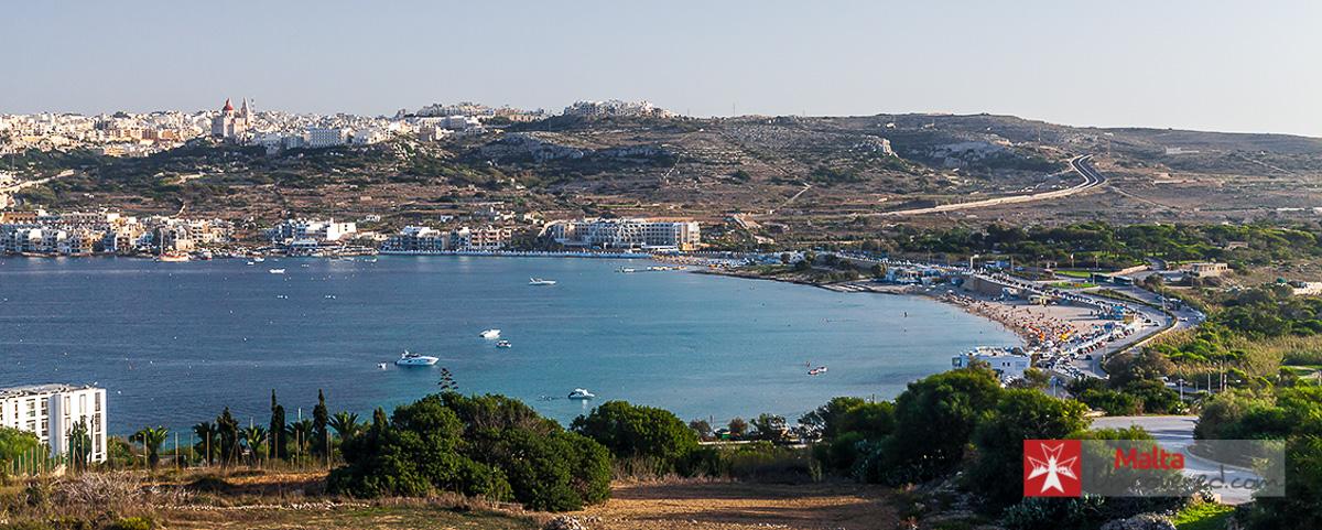 best beaches in Malta and Gozo