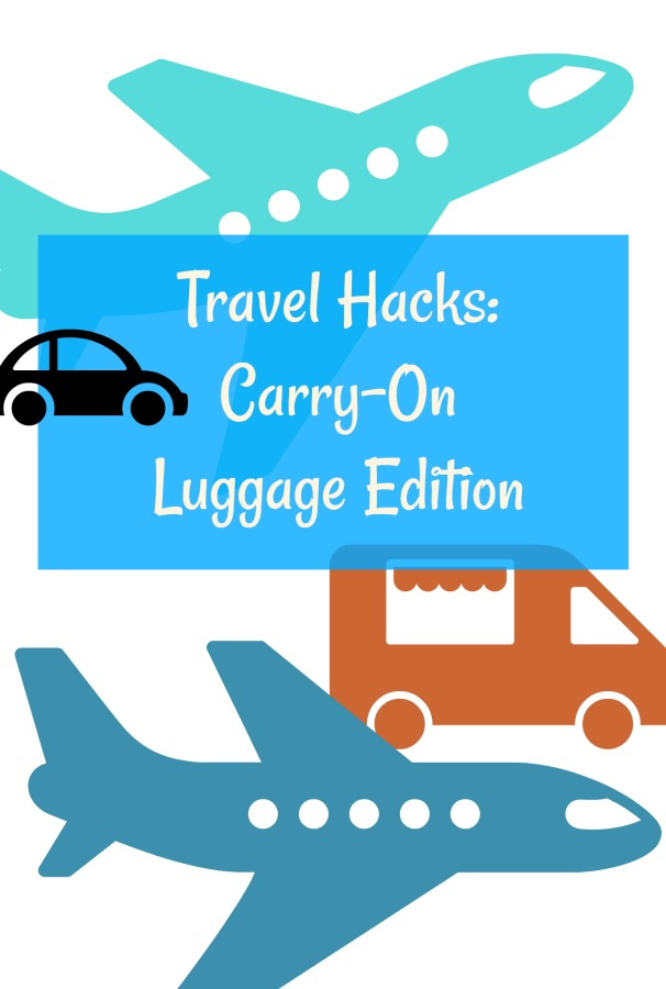 Make your life easier by using only carry-on luggage on your next trip. Read on for my travel hacks that helped me travel through Europe for 2 weeks with one small piece of luggage. #travelhacks #travelgear #traveltips