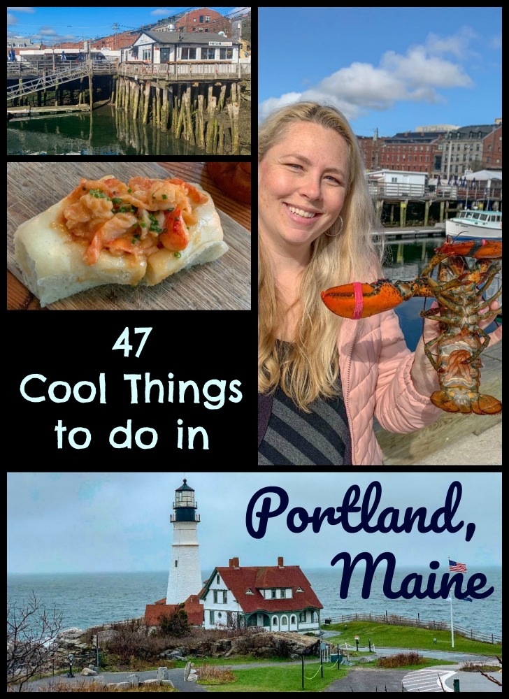 Whether you are spending a week or a weekend in Portland, Maine, enjoy this list of things to do in Portland, Maine that will keep you busy, full and happy! #wits19 #VisitPortlandME @VisitPortland #NewEngland #c2cgroup #TBIN