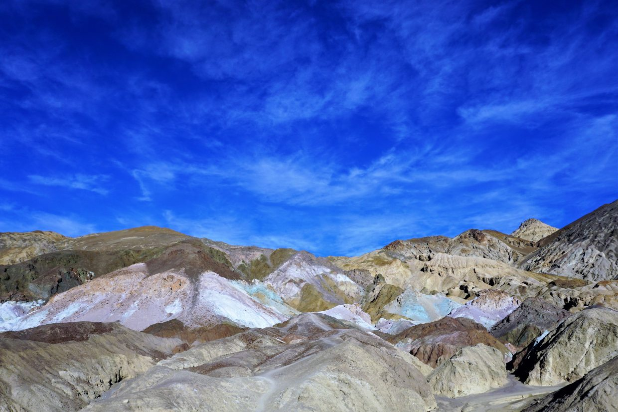 fall in death Valley California