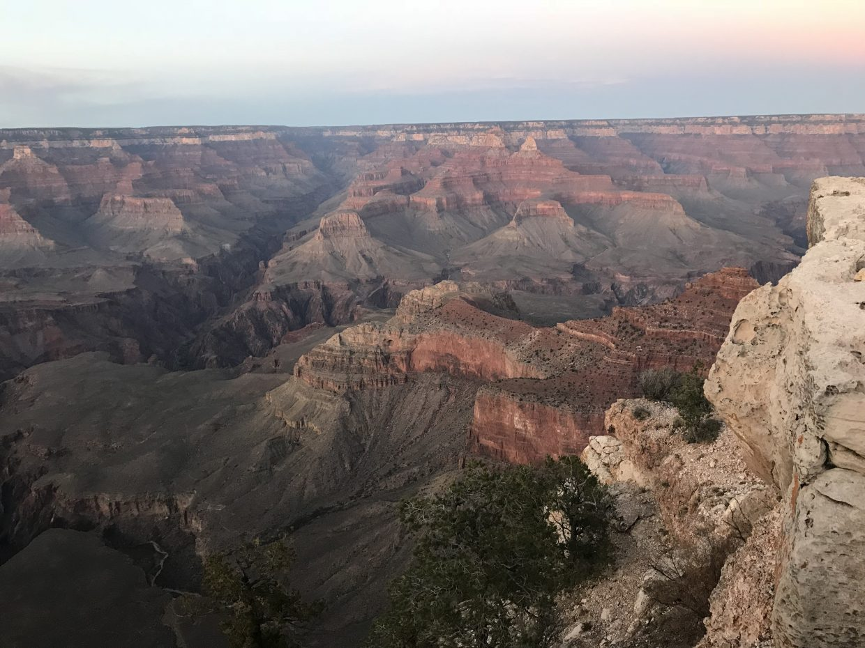 Visiting the Grand Canyon in fall