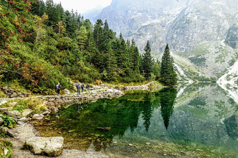 Fall in Tatra National Park, Poland