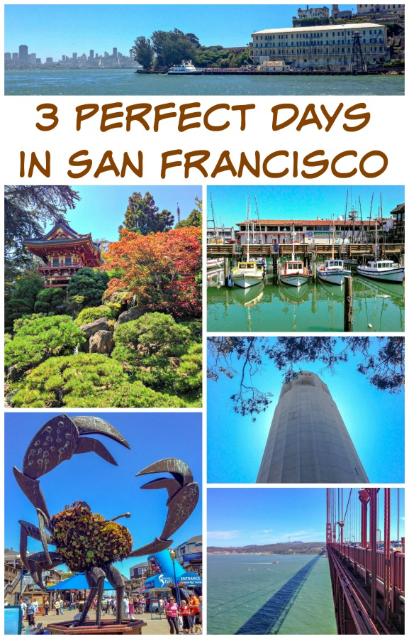Trying to plan your 3 days in San Francisco? I was fortunate enough to live there, so read on for my recommended 3-Day San Francisco itinerary. #CalforniaTravels #whattodoinSanFrancisco #themidlifeperspective