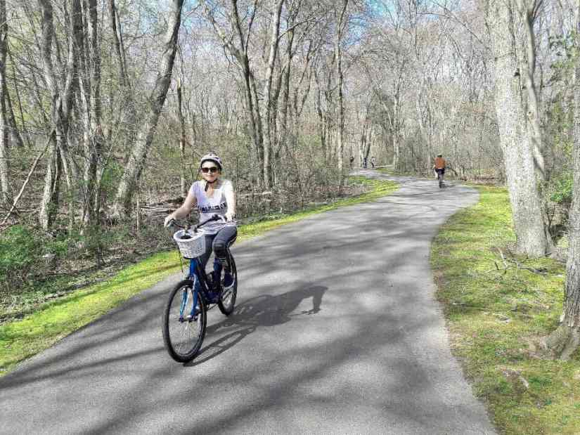 Bike trails in Rhode Island
