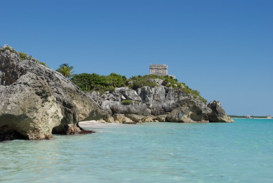 Visiting the Ruins in Tulum, Mexico