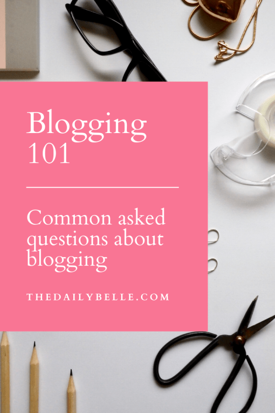 Tips to Become a Blogger and Other Frequently Asked Questions