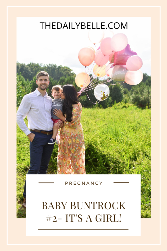 Baby #2 on the way and IT'S A GIRL!
