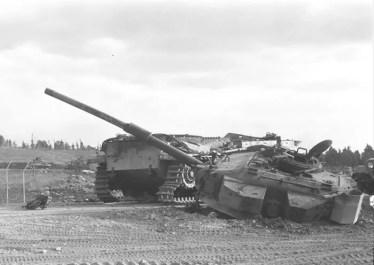 Centurion tank ammo-racked