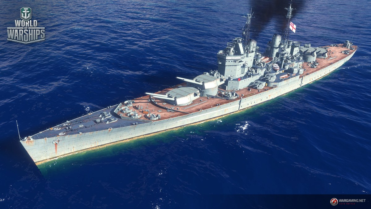 World of Warships – Conqueror – Tier X British Battleship