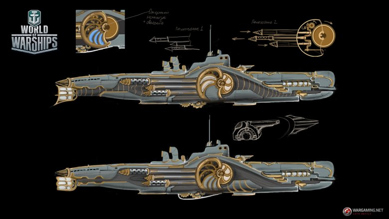 WG_WOWS_SPB_Halloween_Ships_workstages_01_1