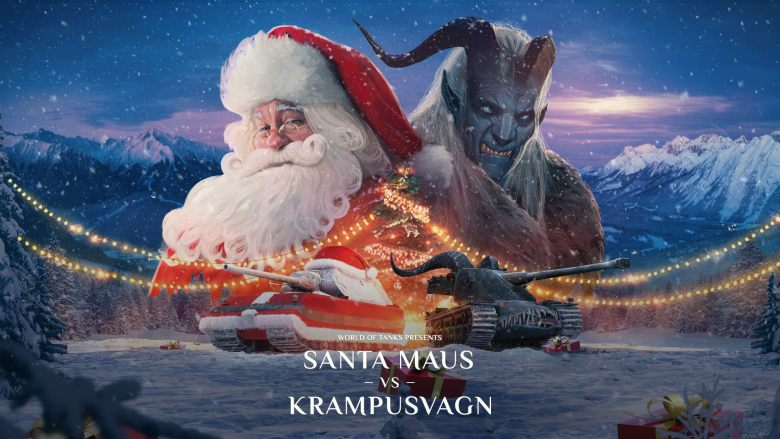 Santa vs Krampus