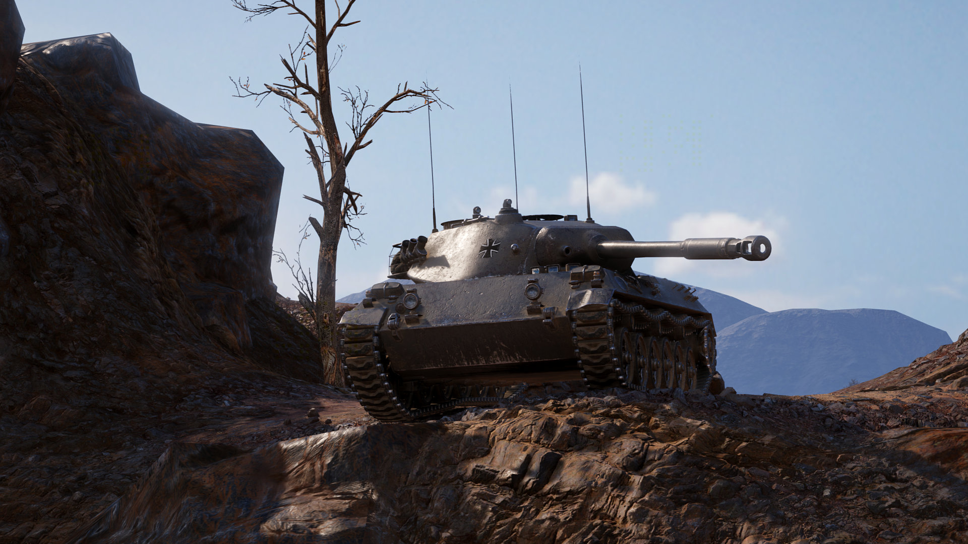 World of Tanks: Meet the HWK 30 & Get a Rental Code