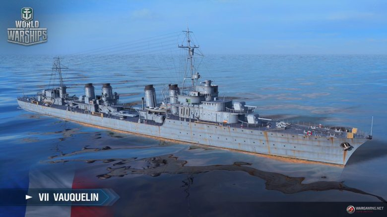 World of Warships: French destroyers, 6 additional premiums