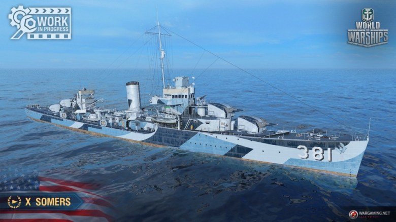 World of Warships: New ships, Soviet battleship arc, Nerf to