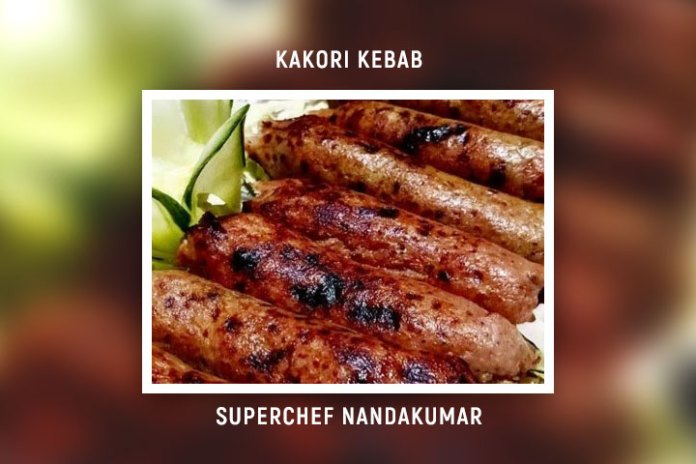 Kakori Kebab by SuperChef Nandakumar