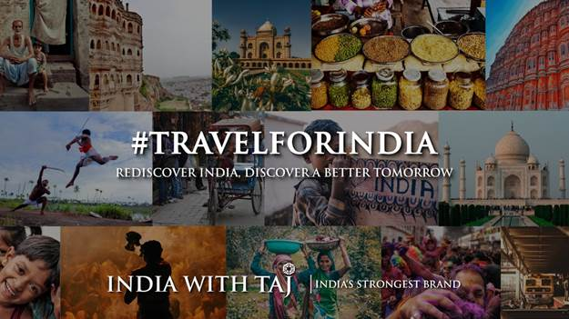 TRAVEL FOR INDIA – An Initiative by IHCL on World Tourism Day