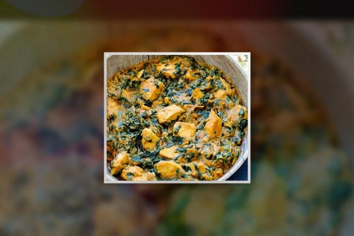 How to prepare Murg Palak
