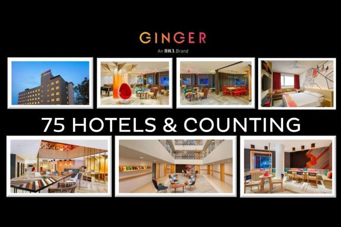 Ginger Signs Its Milestone 75th Hotel