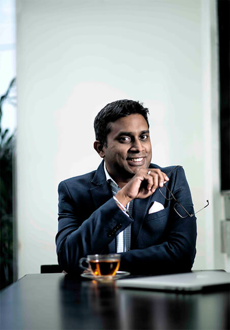 Mr. Kausshal Dugarr - Founder and CEO of Teabox, India's luxury premium tea brand