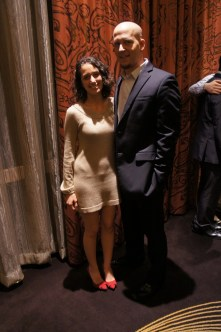SGA Chief Justice Sepi Tabrizi wore a luminous dress and former Senator Matt Zimmer strutted his stuff in a DKNY suit. | Natalie Harms/The Daily Cougar