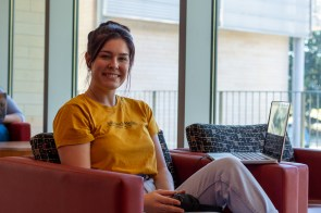 """""""I meditate, play volleyball and run (is what) I do to cope with stress, and I have dedicated study days to help keep me on track,"""" said psychology senior Kelbie Rogers. """"I think there is a lot of good resources on campus as well as talking to your professor."""" 
