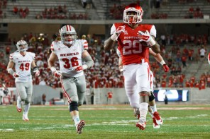 Redshirt freshman Javin Webb entered late in the game to do his part for the Cougars' victory, rushing for 54 yards and a touchdown. | Justin Tijerina/The Cougar