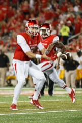Although sophomore quarterback John O'Korn wasn't quite on his game, he completed 14 passes for 200 yards. | Justin Tijerina/The Cougar
