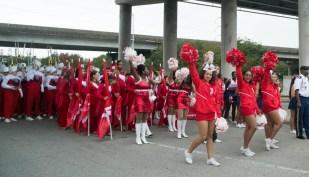 UH's Spirit of Houston leading the way. | Sara Samora/The Cougar