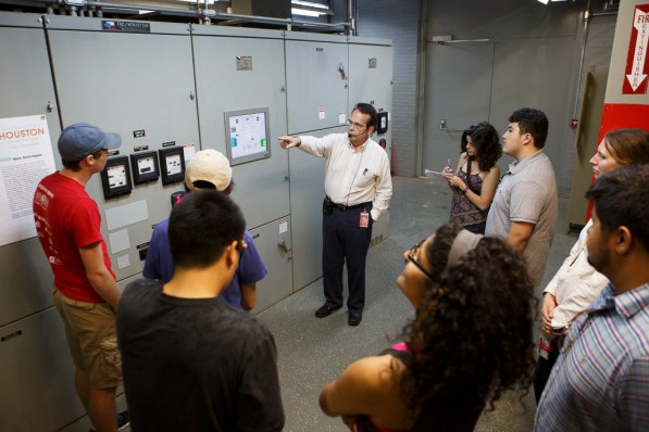 Switchgear allows for centralized electrical equipment protection.   Justin Tijerina/The Cougar