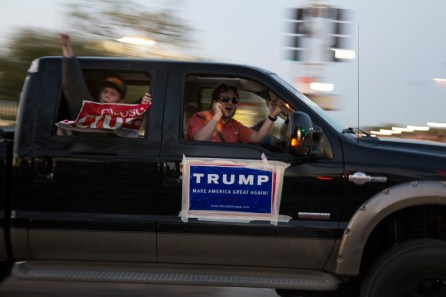 Some Trump supporters attempted to crash the protest. | Photo by Justin Cross.