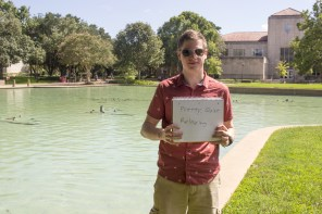 """""""I like it. I think it would be cool if they had the fountains where they shoot water every now and then. And like how they do in Las Vegas, know what I'm talking about? Do the pattern to the music, it would be cool,"""" Michael Lemmon, a mechanical engineering freshman, said.   Dmitriy Borovykh/The Cougar"""